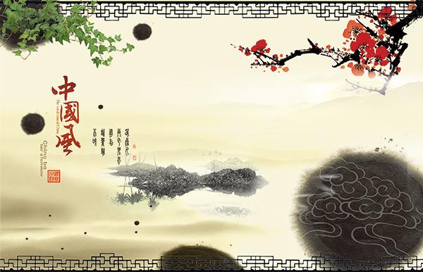 中国风海报,中国风,水墨图片