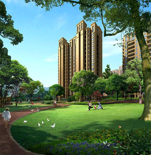 住宅区绿化景观
