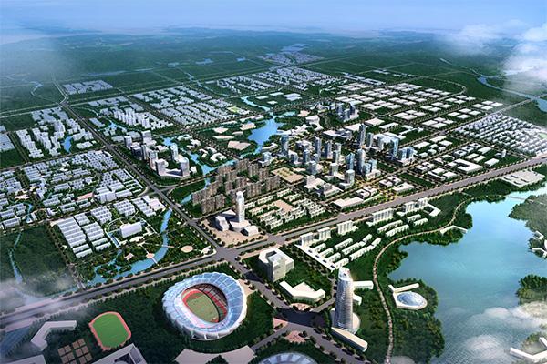 城市设计效果图psd分层素材,城市规划图片,建筑设计效果图,房屋设计