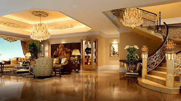 室内设计单体手绘中式灯