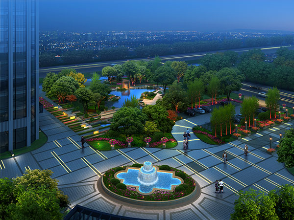 0 点 关键词: 高端景观设计效果图psd分层素材,夜景,地产效果图,商务