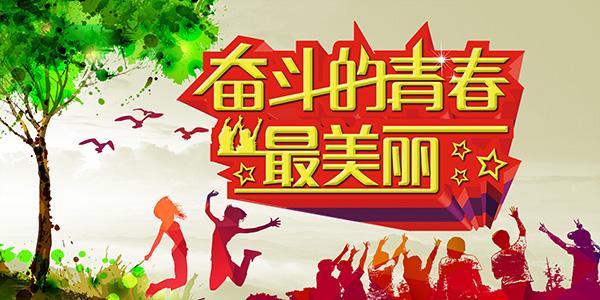 奋斗的青春海报