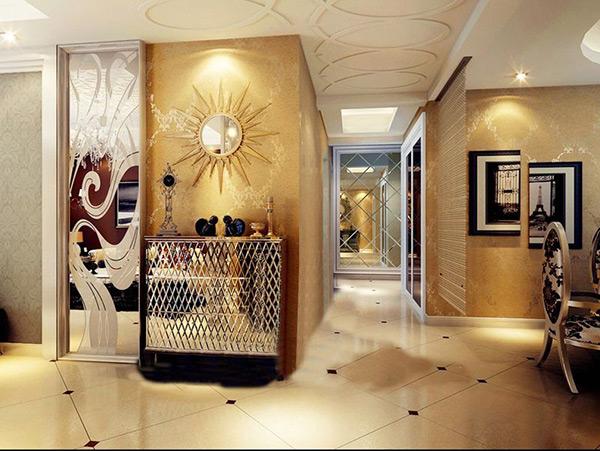 欧式华丽壁画3d玄关免费下载,3dmax效果图,模型,柜子,室内设计,室内如何v壁画ui导入c#图片