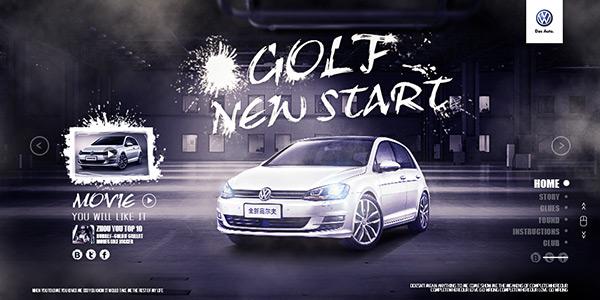 高尔夫汽车主图图片