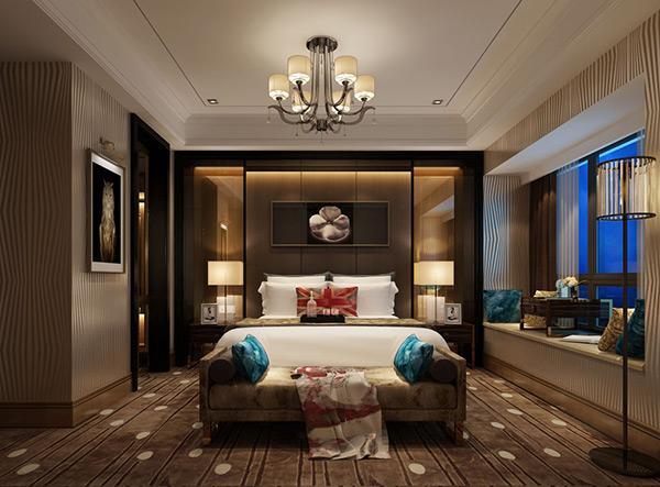 复古卧室模型