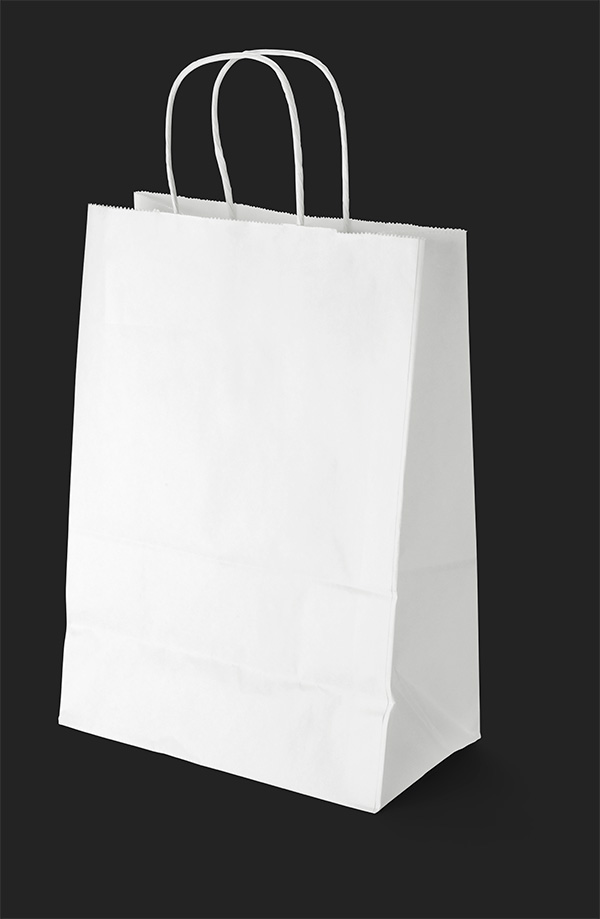 手提纸袋模板图片