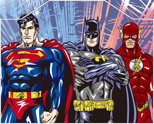 英雄人物漫画