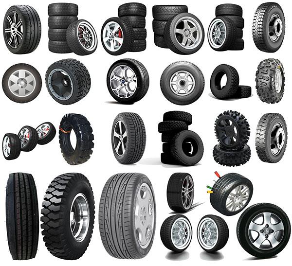 各种类型轮胎