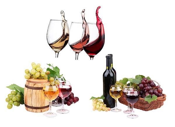 红酒设计素材