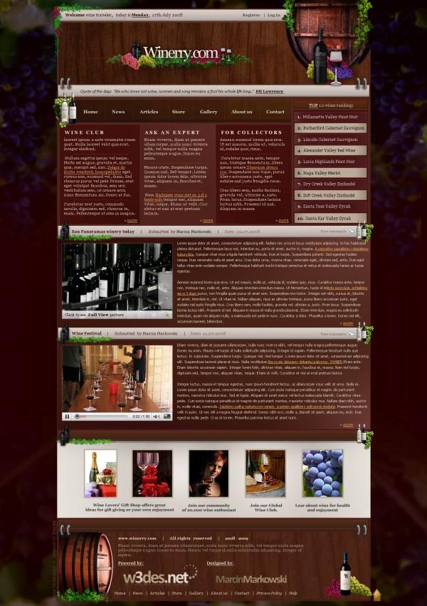 红酒网站,葡萄酒
