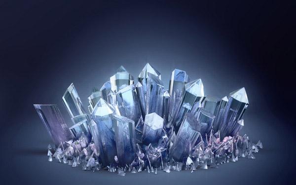 水晶对我而言可爱的她