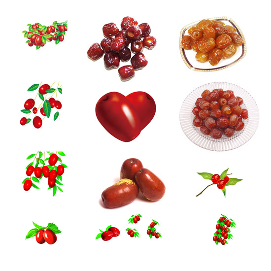 Jujube candied PSD