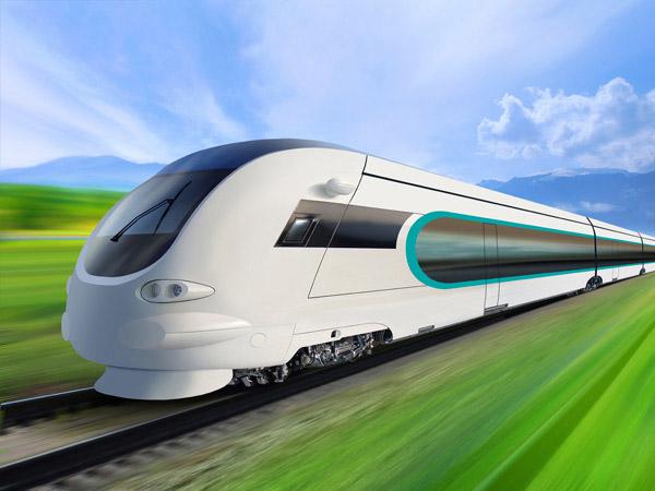 行驶的高速列车图片