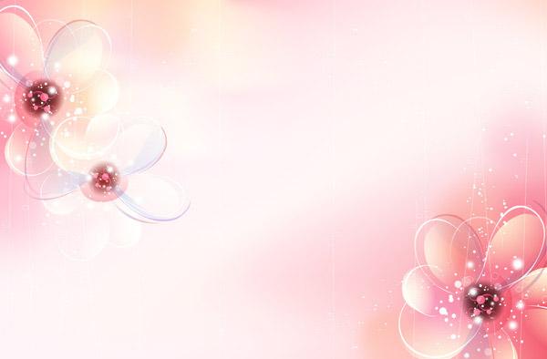浪漫花朵背景_素材中国sccnn.com