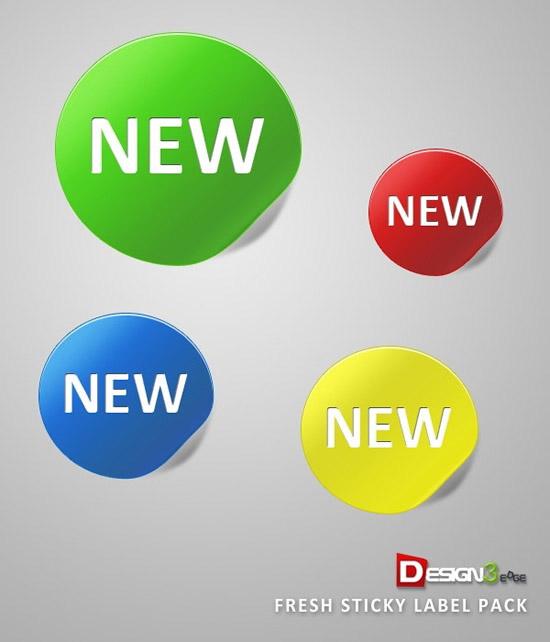 素材 new/网页NEW标签...
