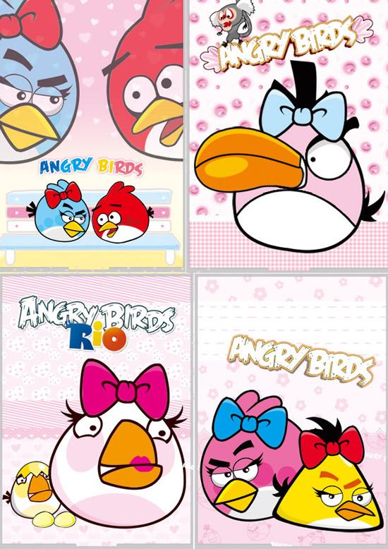 愤怒的小鸟卡通图片