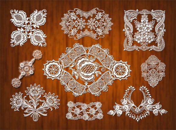 丝,欧式,花朵,花边,花纹,网状,装饰,边框,时尚花纹,富贵花纹,设计元素