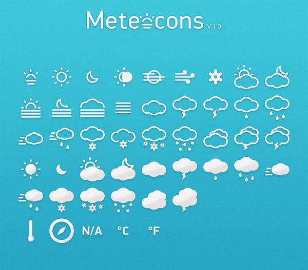 天气预报图标_素材中国sccnn.com