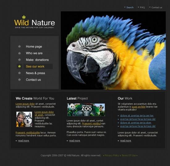动物园网站_素材中国sccnn.com