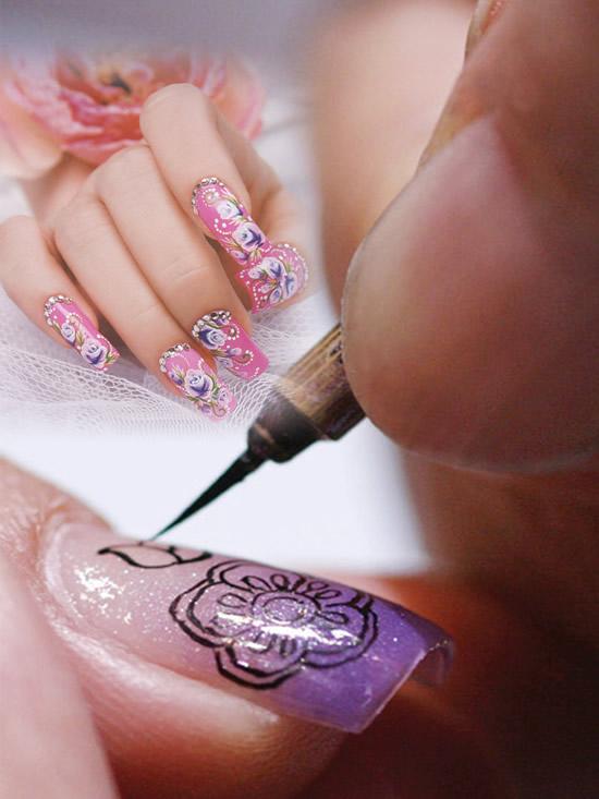 美甲化妆广告 素材中国sccnncom