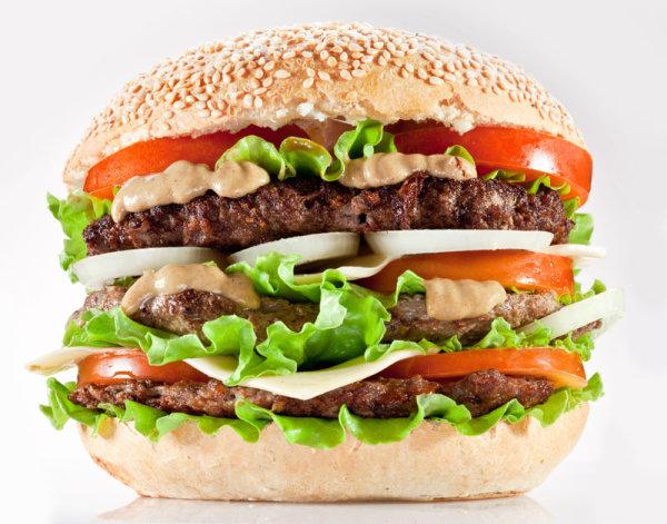 汉堡高清图片