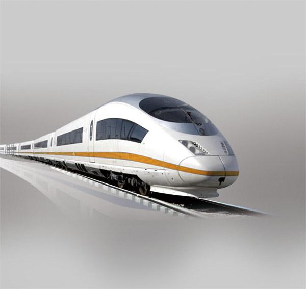 高速列车psd图片