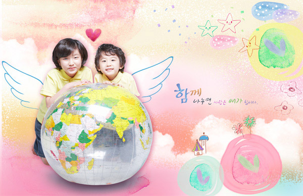 韩国小朋友可爱头像