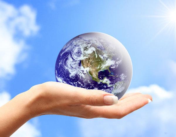 手托地球4