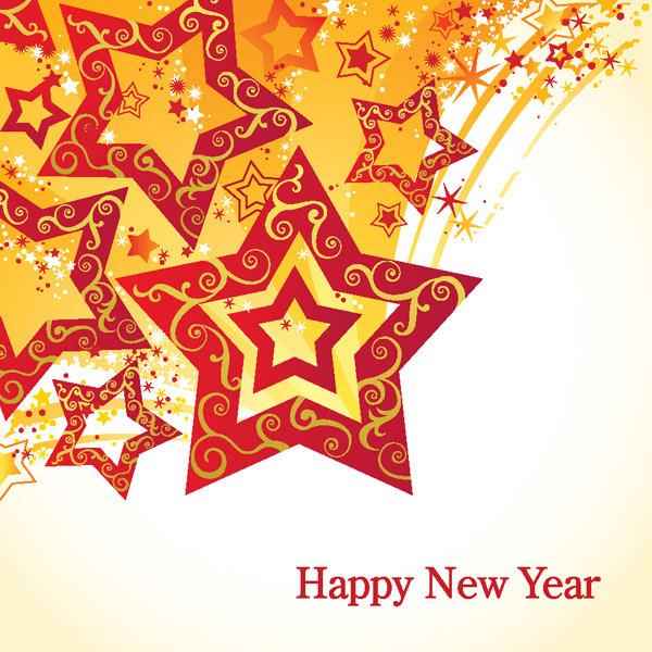 新年快乐五角星