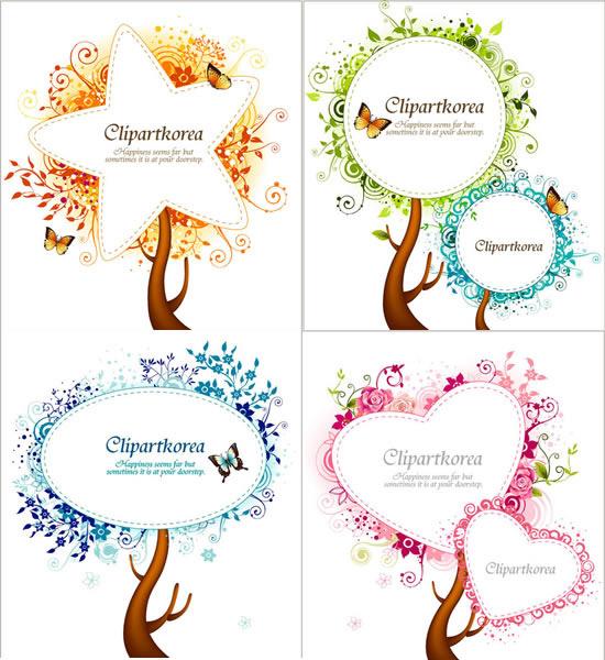 树状结构图创意图形