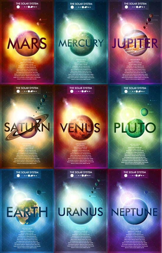 Science Light Posters Planetary Science Poster