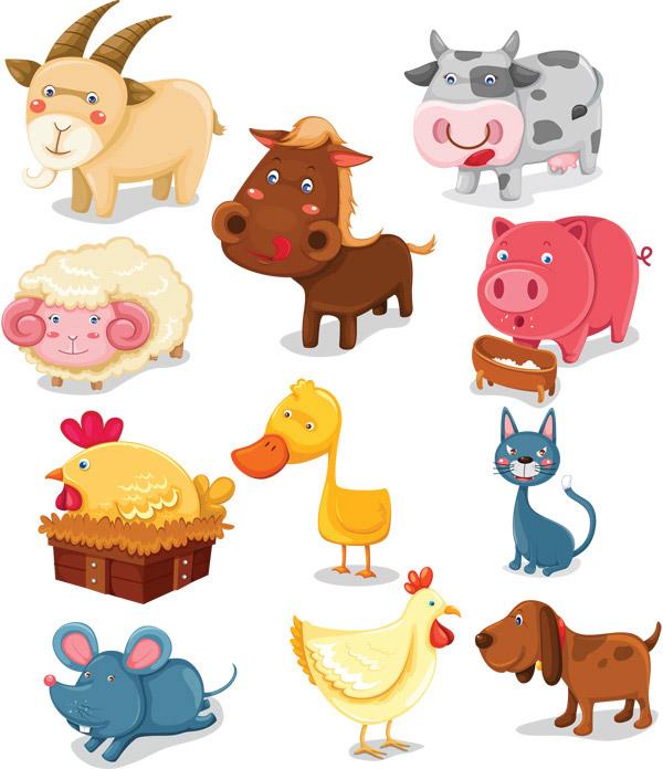 形容动物可爱的词语