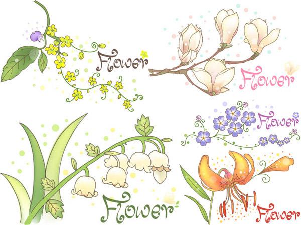 植物藤蔓手绘图片大全
