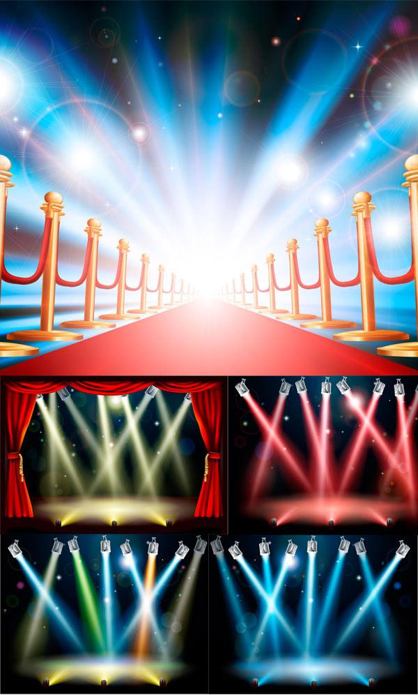 素材 中国 舞台灯光/舞台灯光矢量