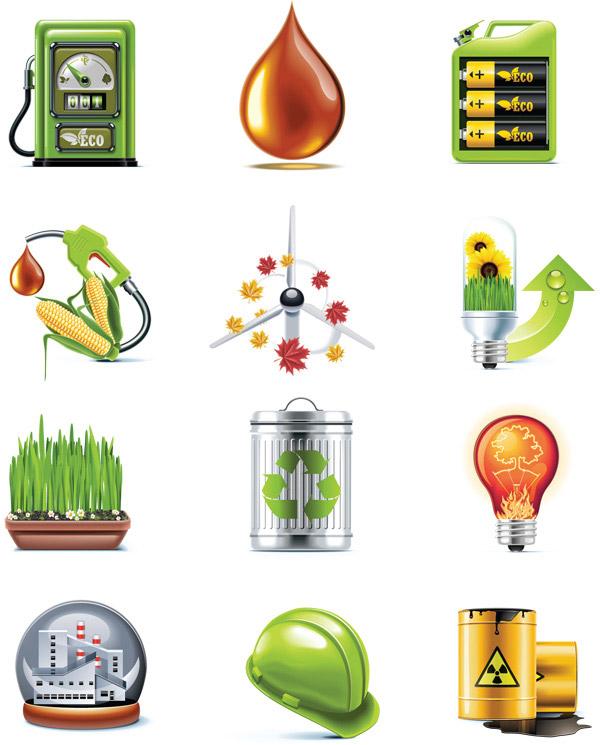环保石油标志