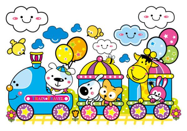 开火车的动物_素材中国sccnn.com
