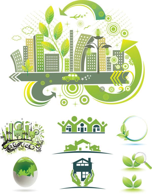 环保城市标志_素材中国sccnn.com