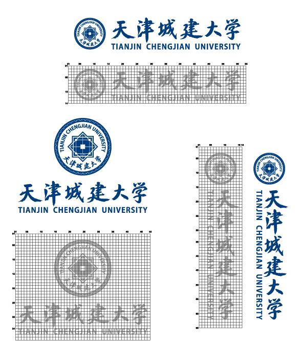 天津城建大学校徽