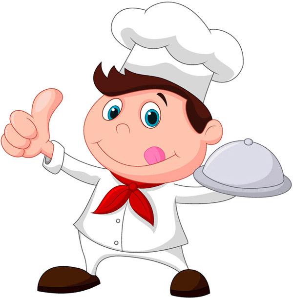 小小厨师,厨师帽