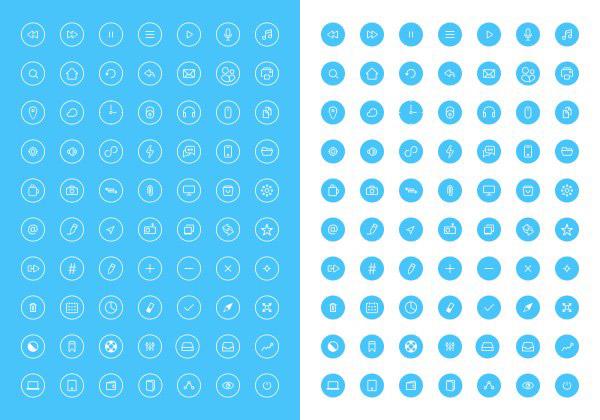 0 点 关键词: 70个线条图标,扁平,简约,icon,线条,矢量,图标,系统图片