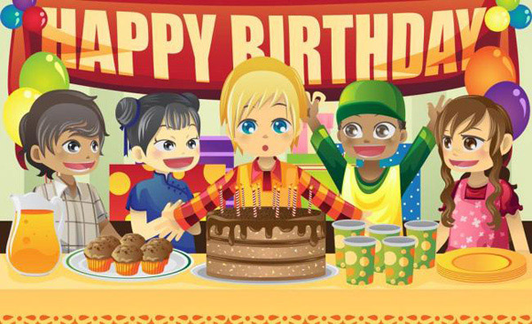 卡通 生日快乐/卡通生日快乐