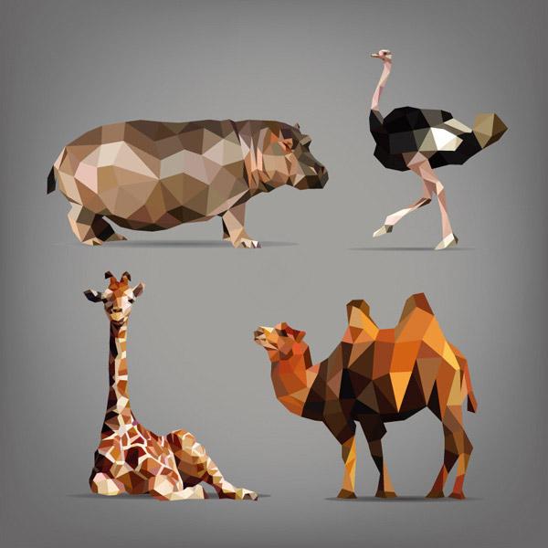 立体折纸动物_素材中国sccnn.com