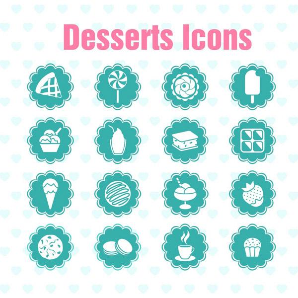 素材分类: 矢量各式图标所需点数: 0 点 关键词: 美食小图标免费下载