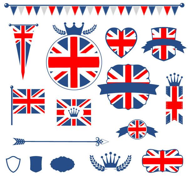英国国旗元素