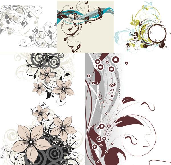 花卉插图设计