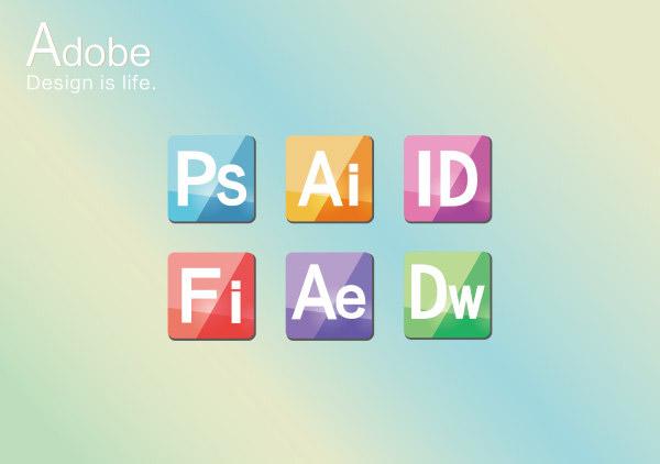 adobe软件图标