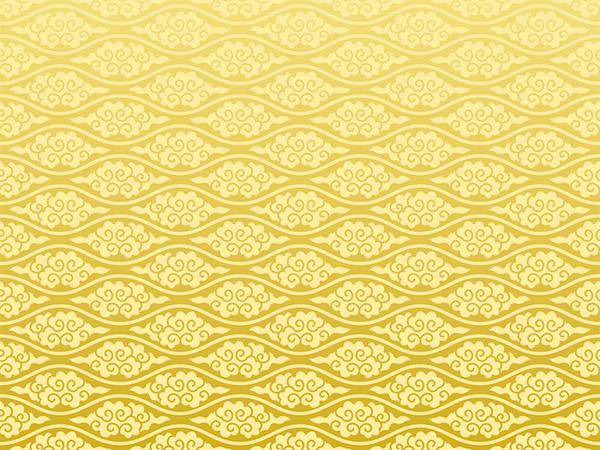 素材分类: 矢量背景所需点数: 0 点 关键词: 精美的金色祥云背景素材