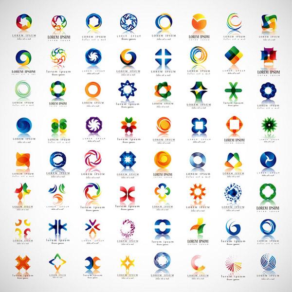 立体logo设计图片