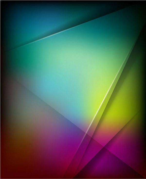 抽象几何形背景