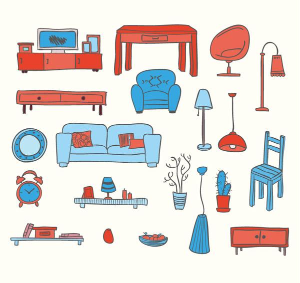 彩色家具设计